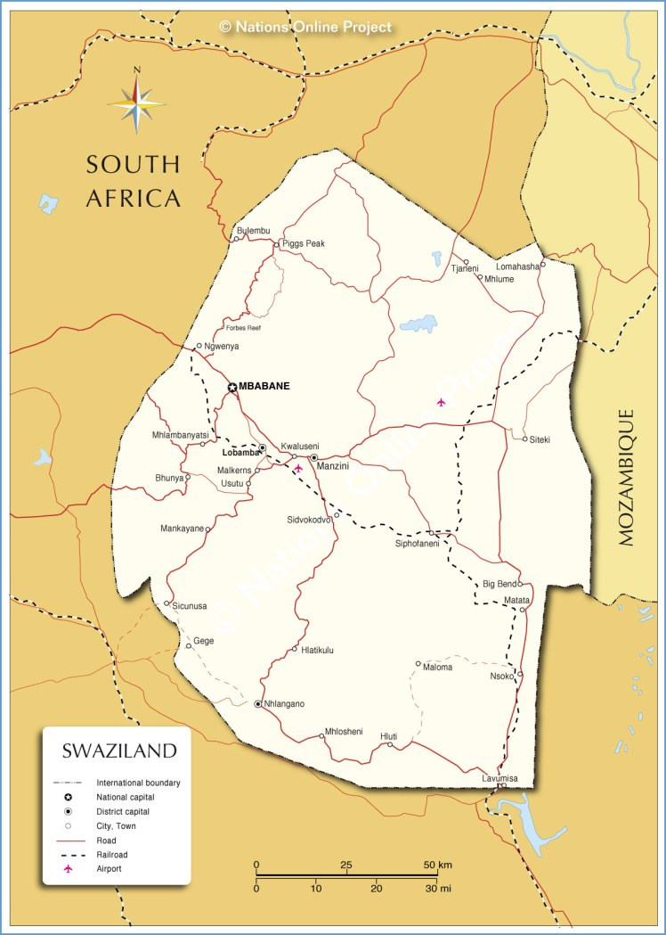 swaziland-map